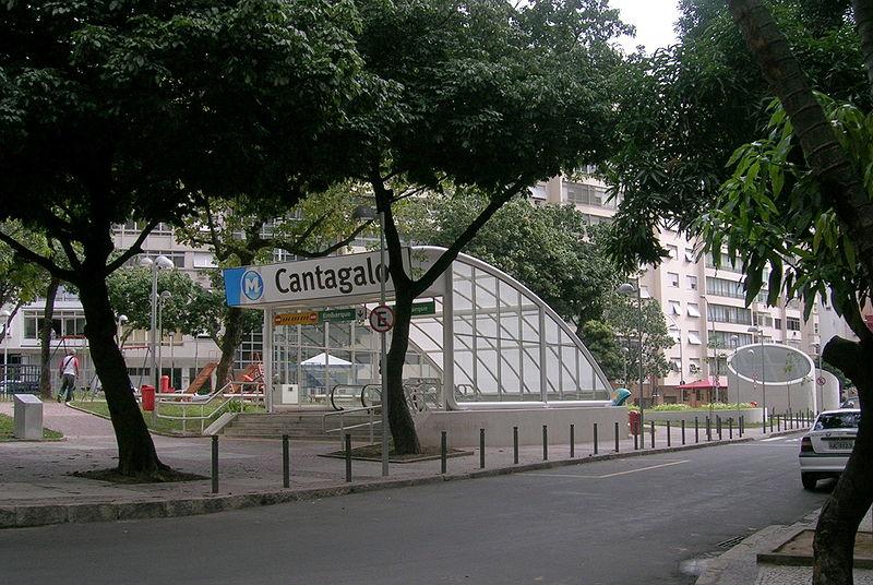 Praça Eugenio Jardim em Copacabana, Rio de Janeiro