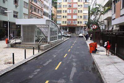 Rua Sá Ferreira em Copacabana