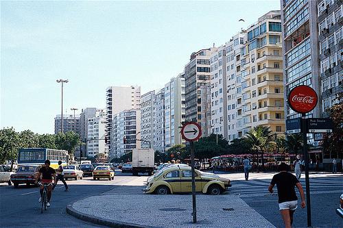 Rua Souza Lima esquina com Avenida Atlântica