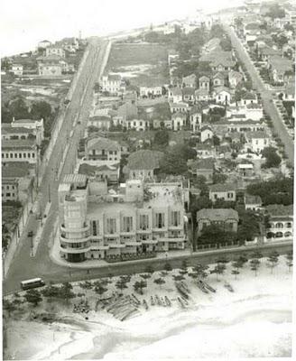 Cassino Atlântico no Posto 6 em Copacabana, década de 1930