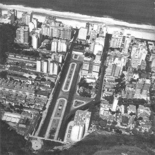 Avenida Princesa Isabel nos anos 1950