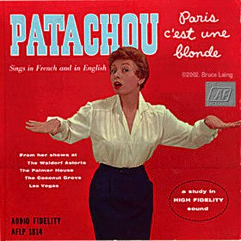 A cantora francesa Patachou se apresentou na Vogue