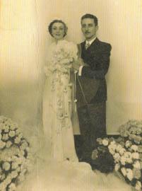 Casamento de Braguinha com Astréa Rabelo Cantolino