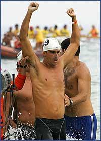 Luis Lima vence a Travessia dos Fortes 2004