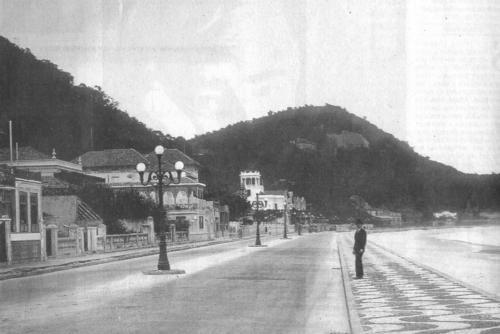 Avenida Atlântica em 1906