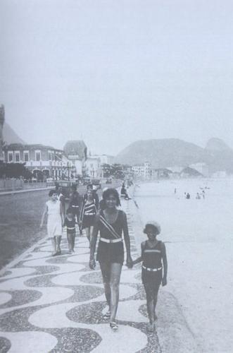 Praia de Copacabana e a moda praia verão de 1925