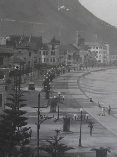 A recém inaugurada Avenida Atlântica em 1919