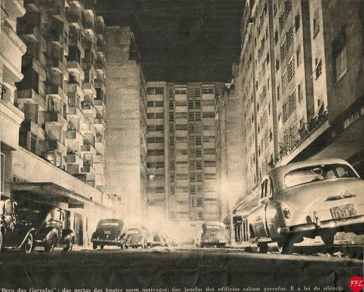 As varandas e as janelas de uma Copacabana dos anos 1950