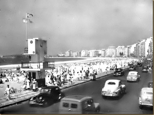 Avenida Atlântica anos 1950