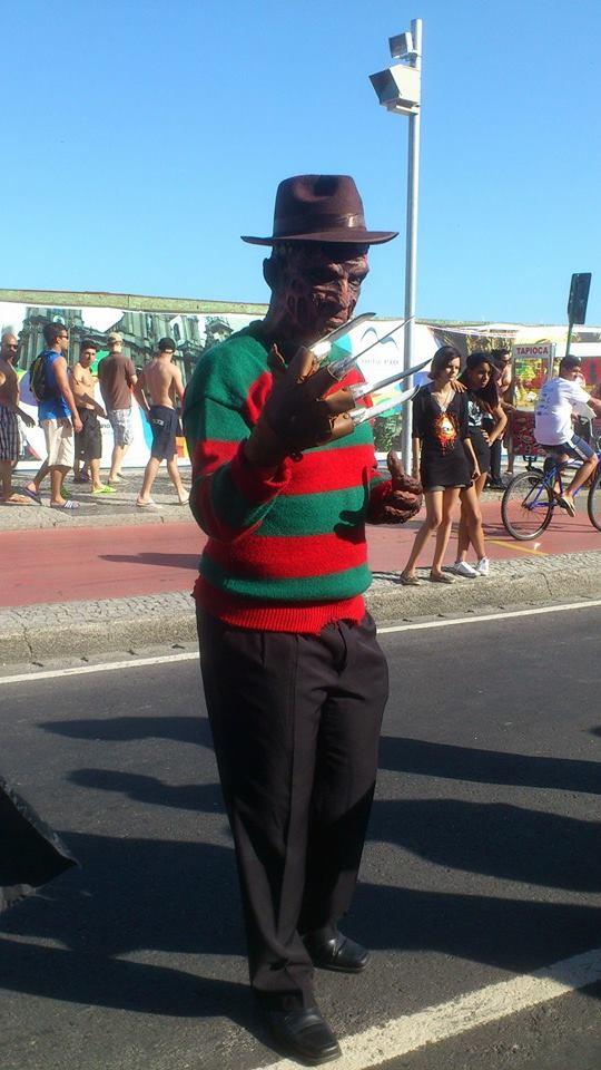 Fred na Zombie Walk 2013