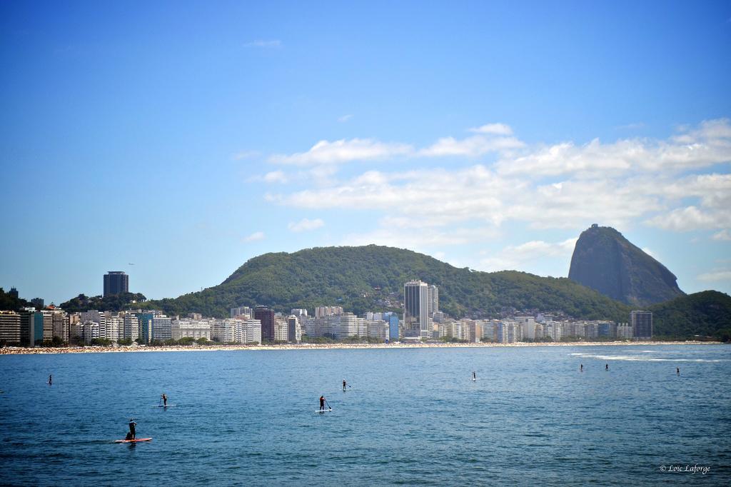 Stand up paddle em Copacabana