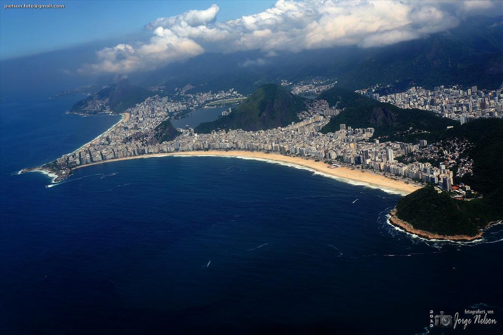 Foto aerea de Copacabana
