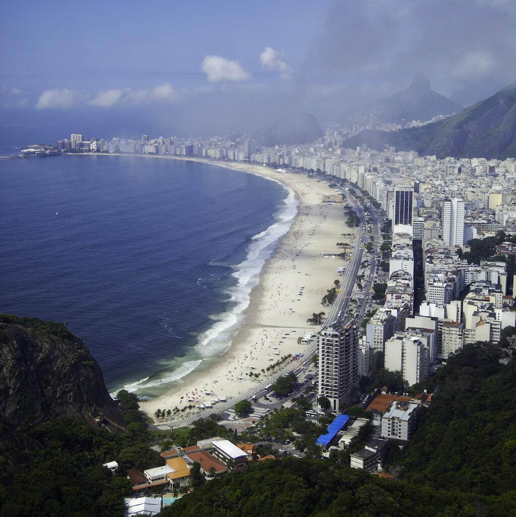 Praia de #Copacabana em dezembro 2013