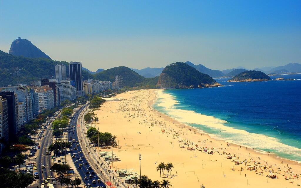 Praia de Copacabana verão 2014