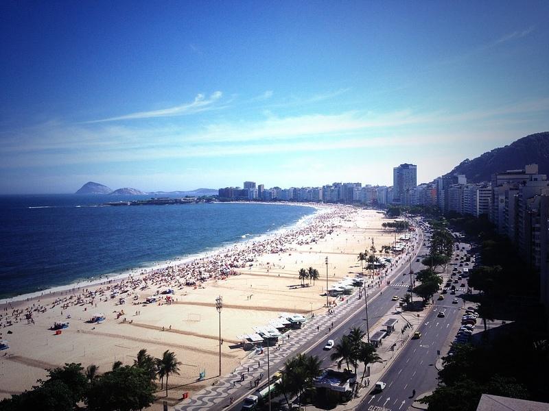 Praia de Copacabana - 10/01/2014