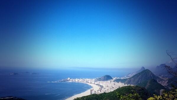 Copacabana vista do alto