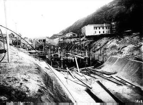 Construção do Canal do Leblon