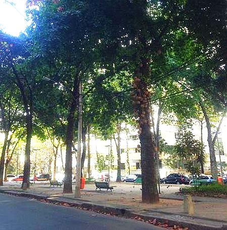 Praça Nossa Senhora Auxiliadora, no Leblon