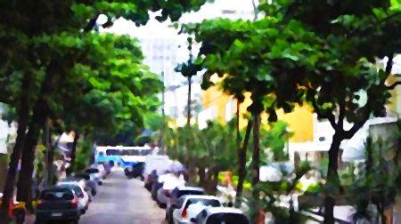 Rua Carlos Góis, no Leblon