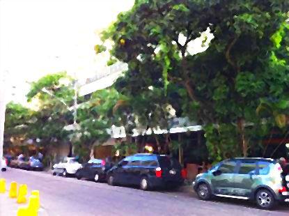 Rua Conde Bernadotte, no Leblon