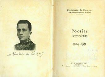 Poesias Completas de Humberto de Campos