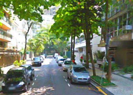 Rua Jerônimo Monteiro no Leblon