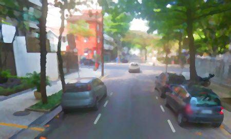 Rua Jeronimo Monteiro no Leblon, Rio de Janeiro