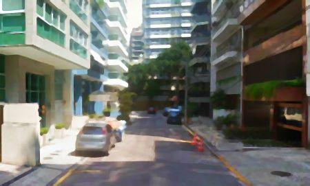Rua João de Barros no Leblon, Rio de Janeiro