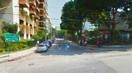 Rua Juquiá no Leblon, Rio de Janeiro
