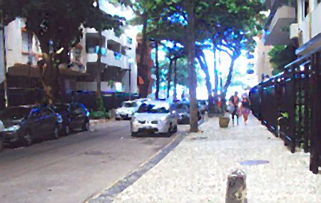 Rua Rainha Guilhermina no Leblon, Rio de Janeiro