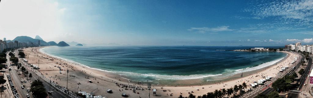 360º da Praia de Copacabana