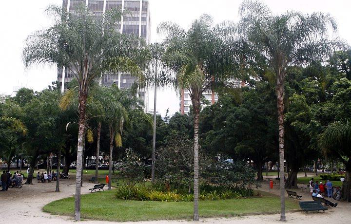 Praça Nossa Senhora da Paz em Ipanema, Rio de Janeiro