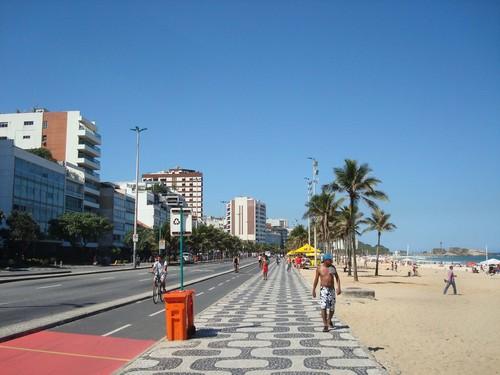 Avenida Vieira Souto em Ipanema, Rio de Janeiro