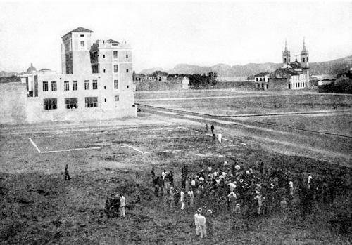 O desmonte do Morro do Castelo