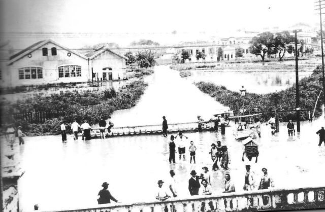 O canal do Mangue, anos 1890