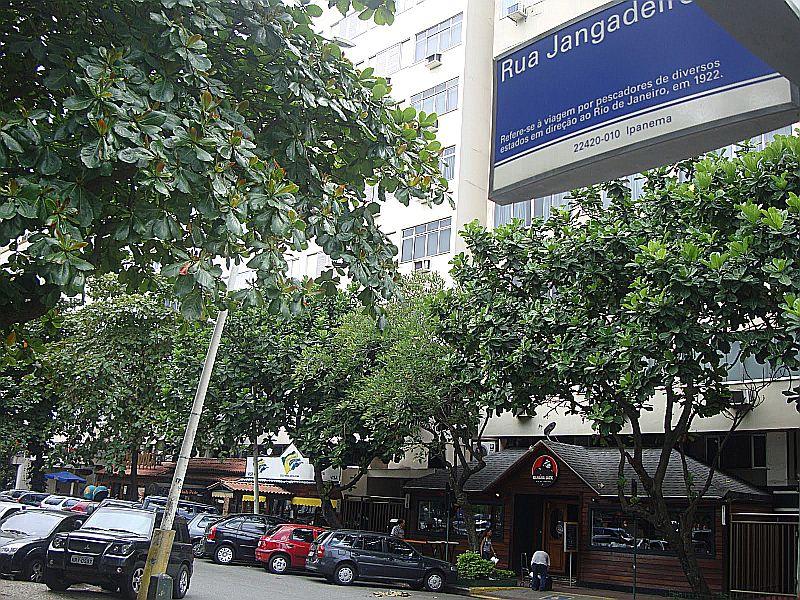 Rua Jangadeiros em Ipanema, Rio de Janeiro