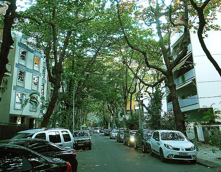 Rua Almirante Saddock de Sá em Ipanema, Rio de Janeiro - Foto:  Arq. Funkill