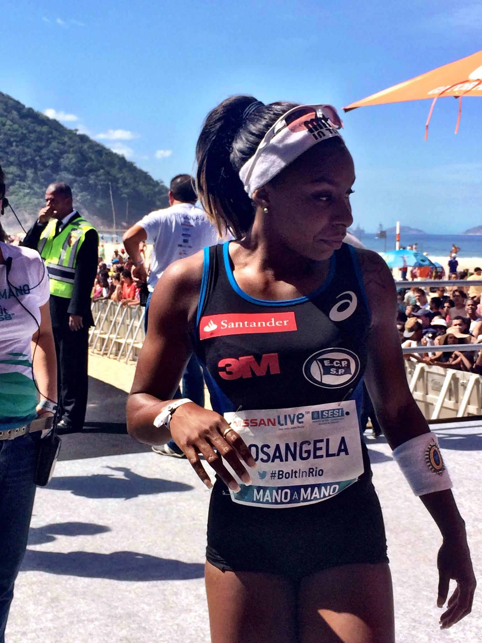Brasileira Rosângela Santos vence em Copacabana