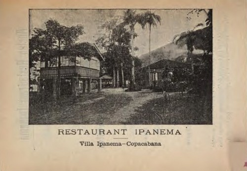 Rua Barão da Torre em Ipanema, em 1928