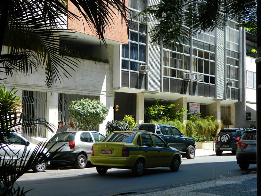 Rua Gorceix em Ipanema, Rio de Janeiro