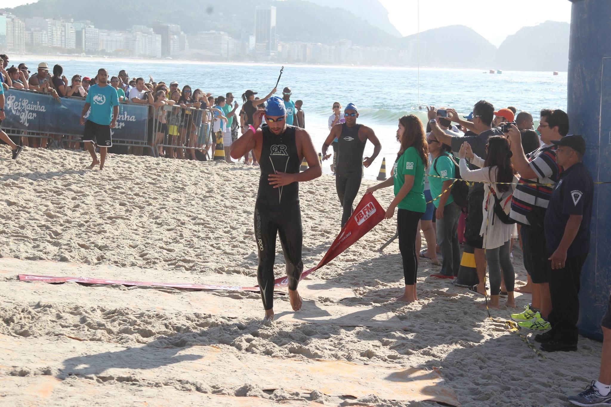 Samuel de Bona vencendo em Copacabana