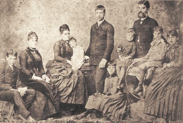 Prudente de Moraes e sua família