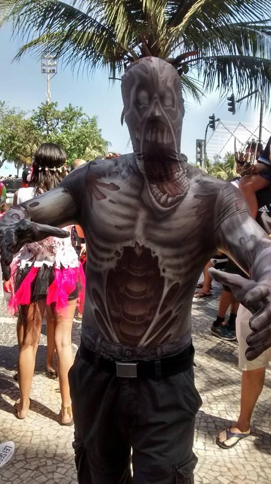 Morto vivo na Zombie Walk 2014