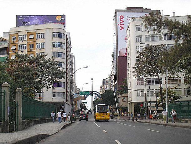 Rua Visconde de Pirajá em Ipanema