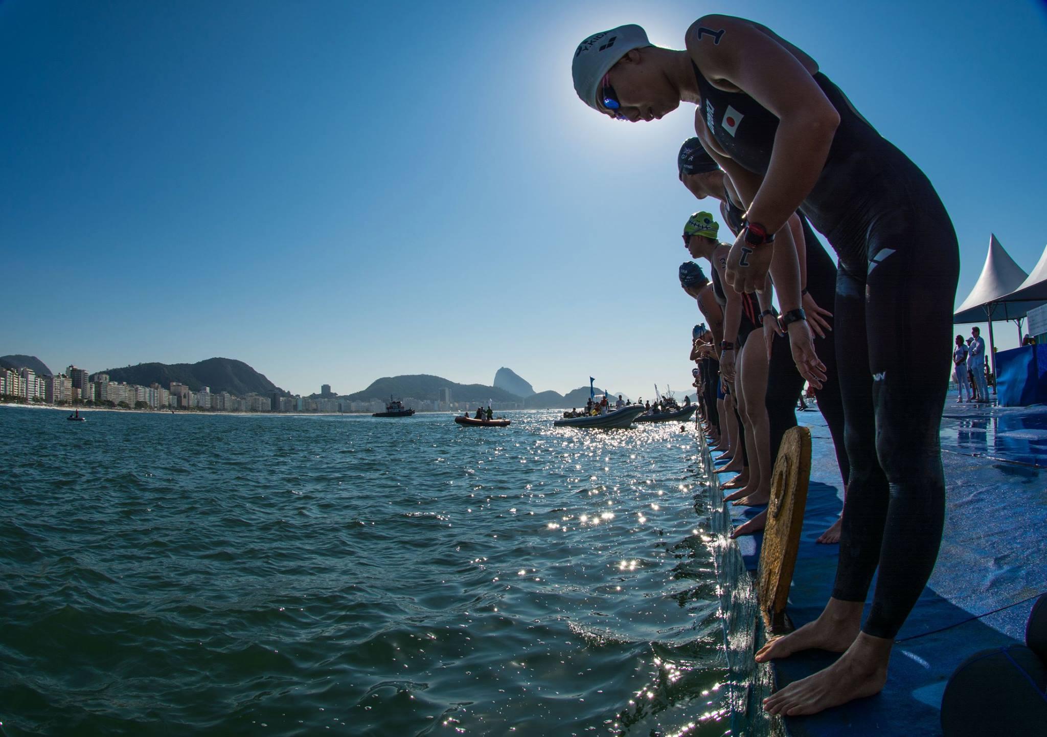 Evento Internacional de Maratona Aquática, #AqueceRio, em 23/08/2015