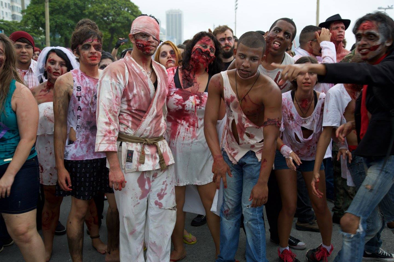 Zombies invadem Copacabana