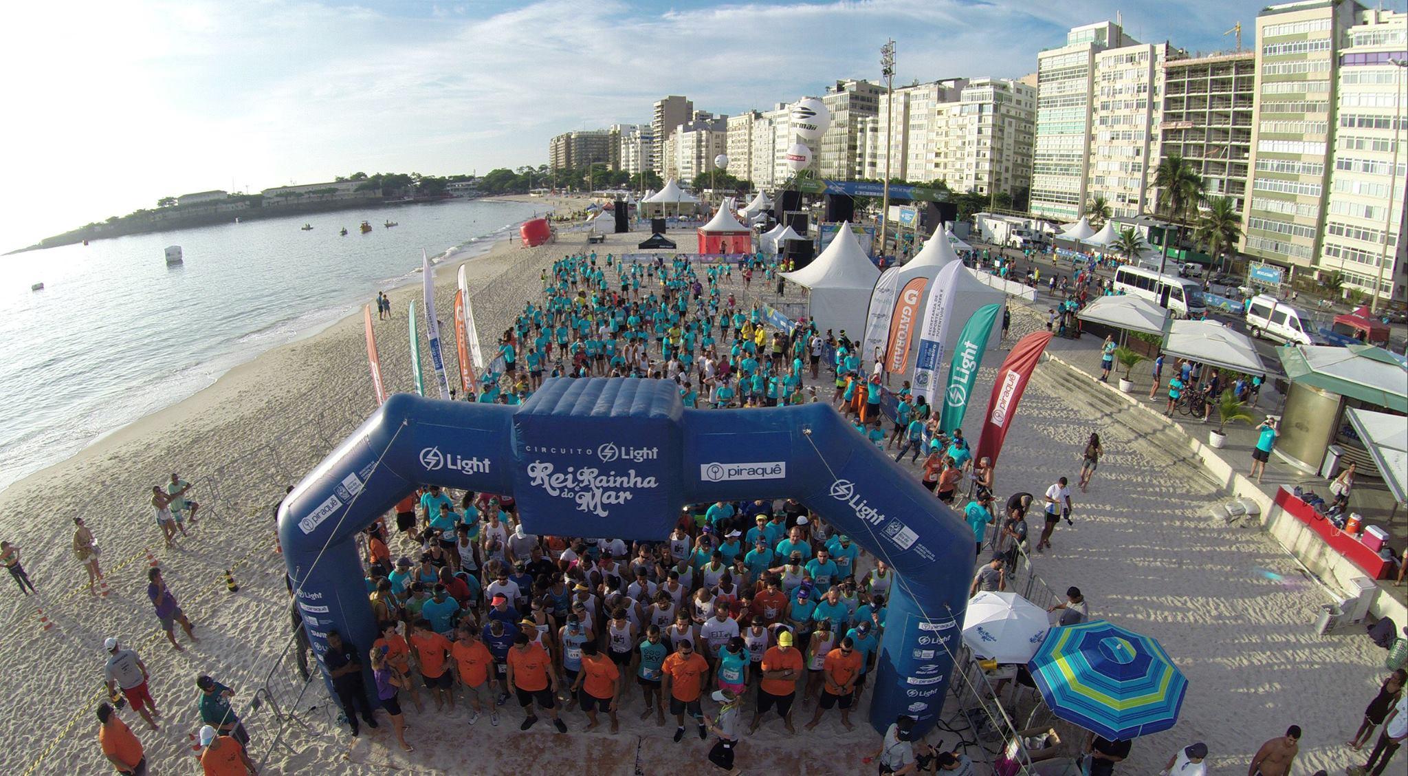Maratona aquática Rei e Rainha do Mar