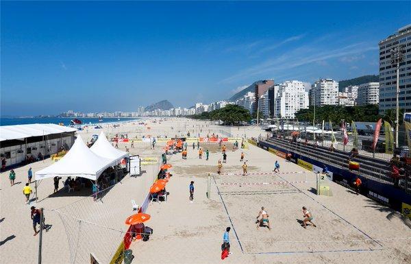 RIO GRAND SLAM 2016 - FIVB World Tour em Copacabana - Arena do volei