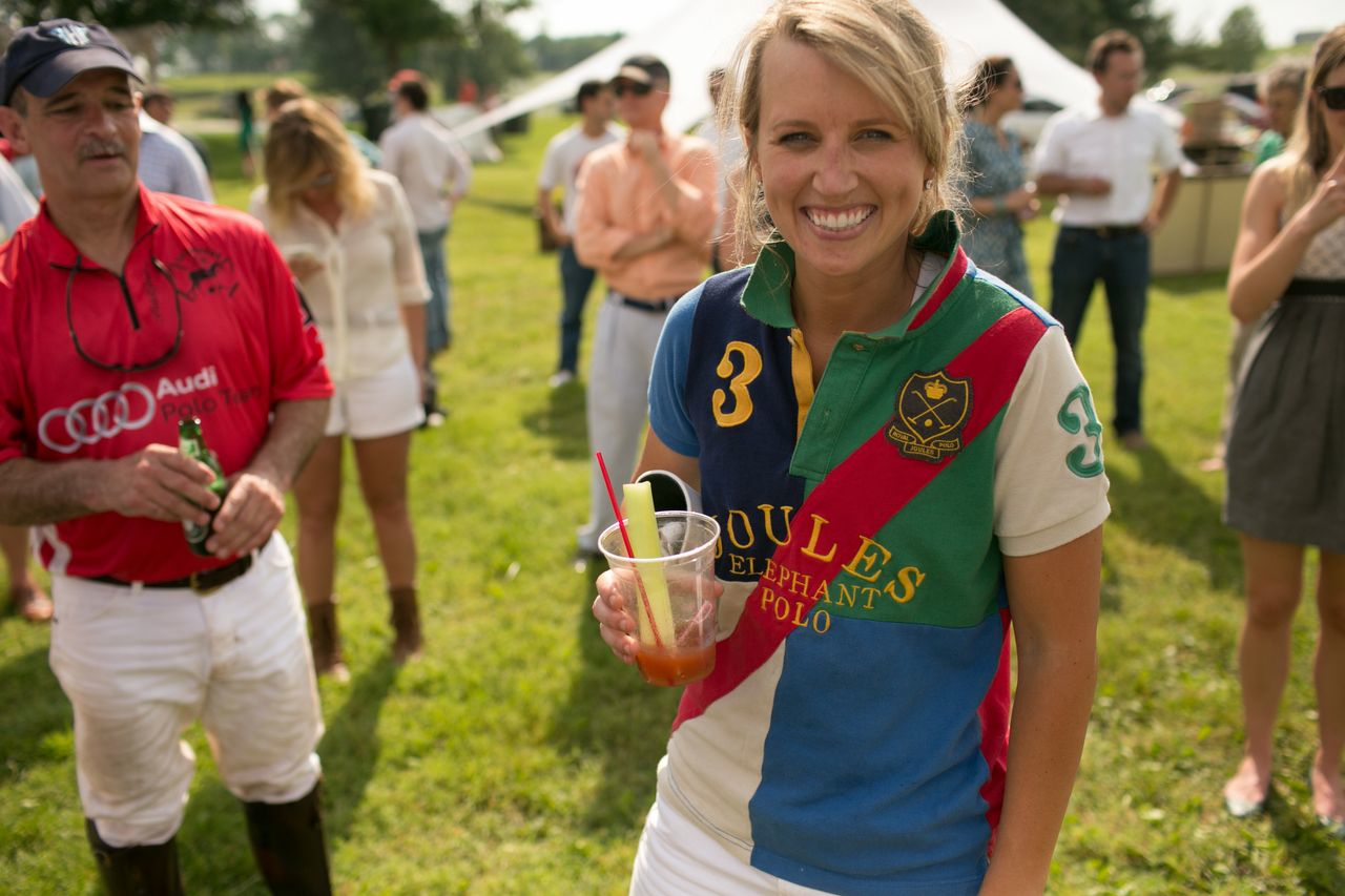Abby Jones enjoys her victory!