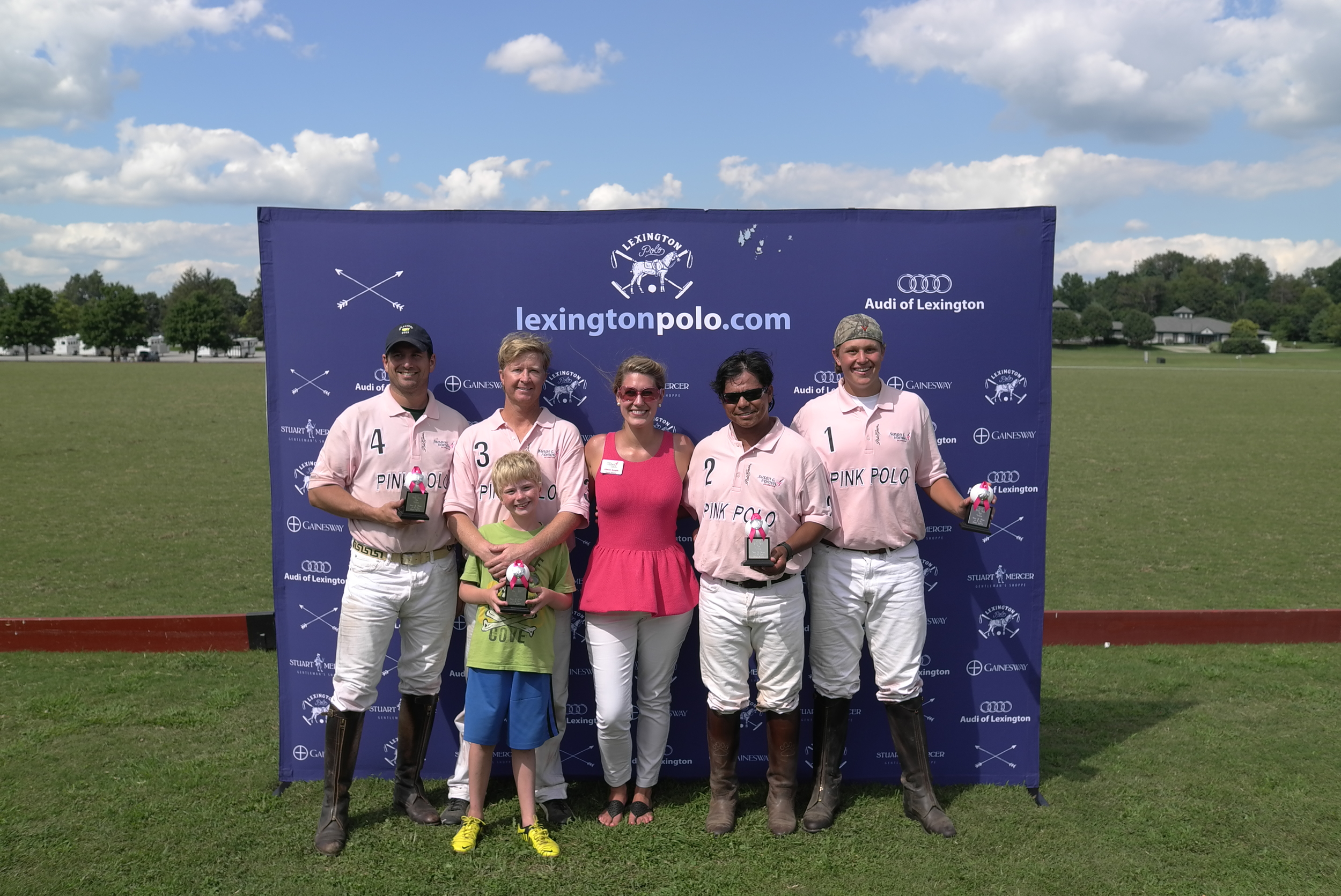 Pink Polo Cup Winners - Team Susan G. Komen